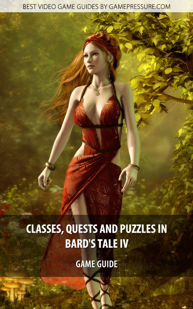 Classes, Quests And Puzzles in The Bard's Tale 4 - Game Guide